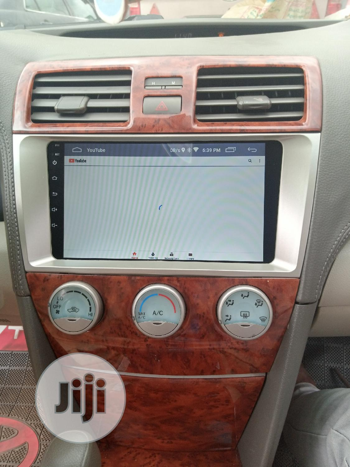 Toyota Camry Android Dvd Player