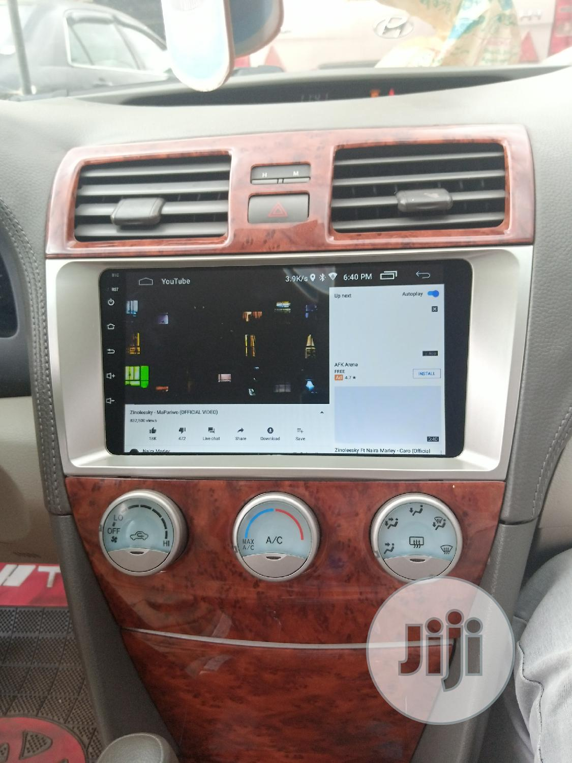 Toyota Camry Android Dvd Player | Vehicle Parts & Accessories for sale in Ikeja, Lagos State, Nigeria