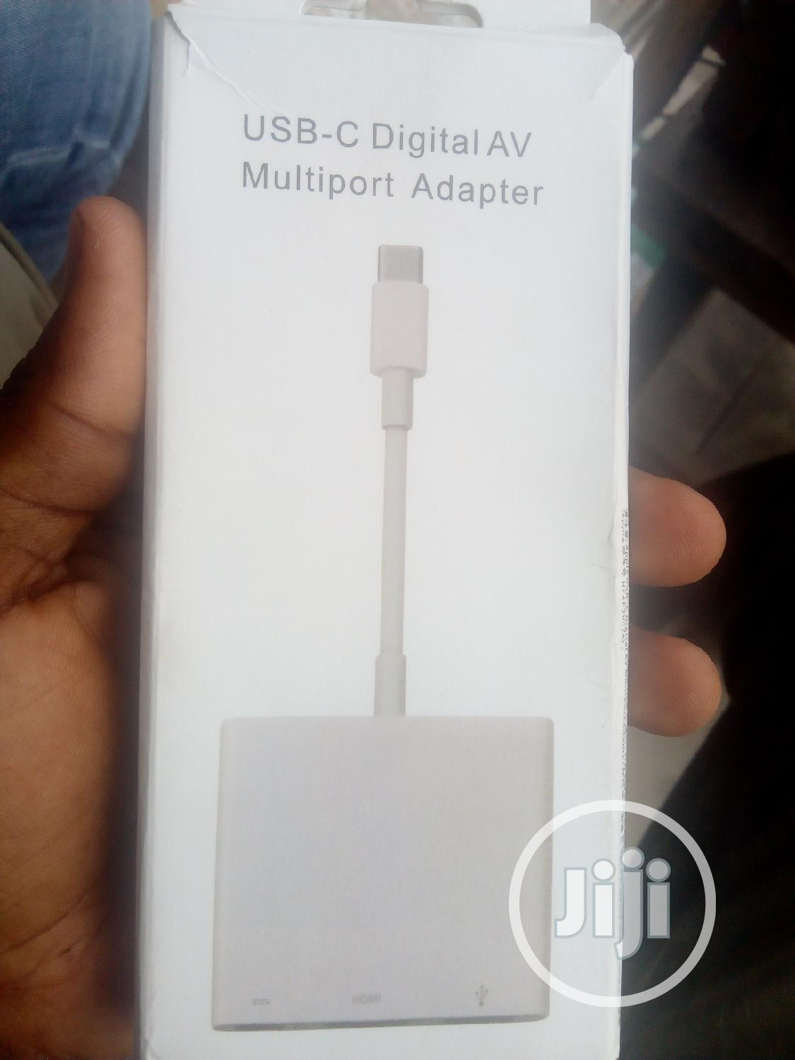 USB C Digital AV Multiport Adapter
