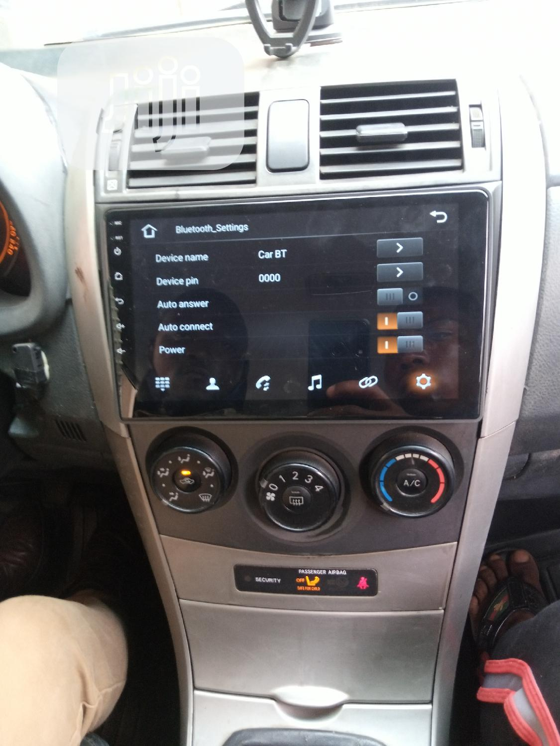 Corolla 2010 Android DVD