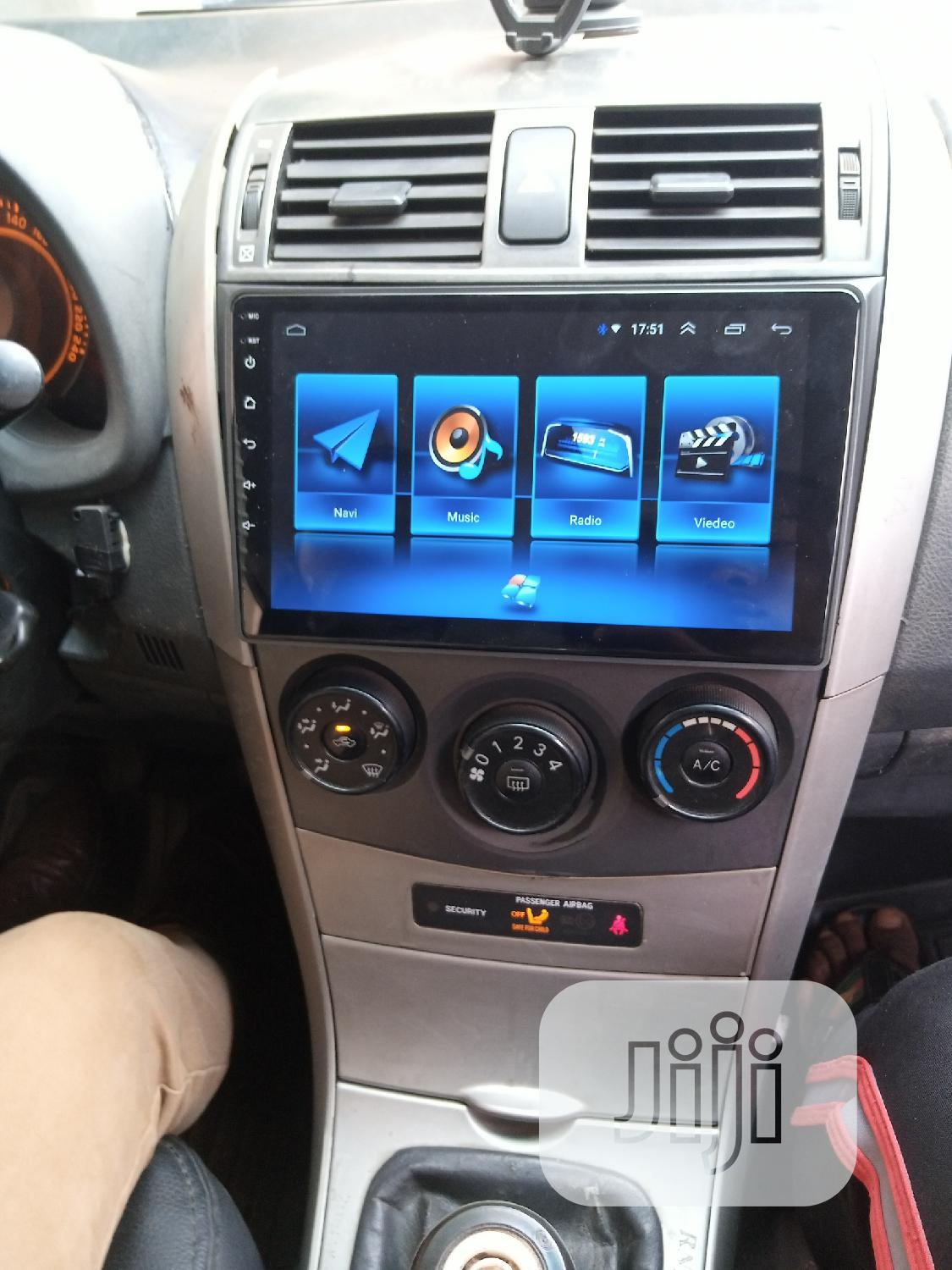 Corolla 2010 Android DVD   Vehicle Parts & Accessories for sale in Ikeja, Lagos State, Nigeria