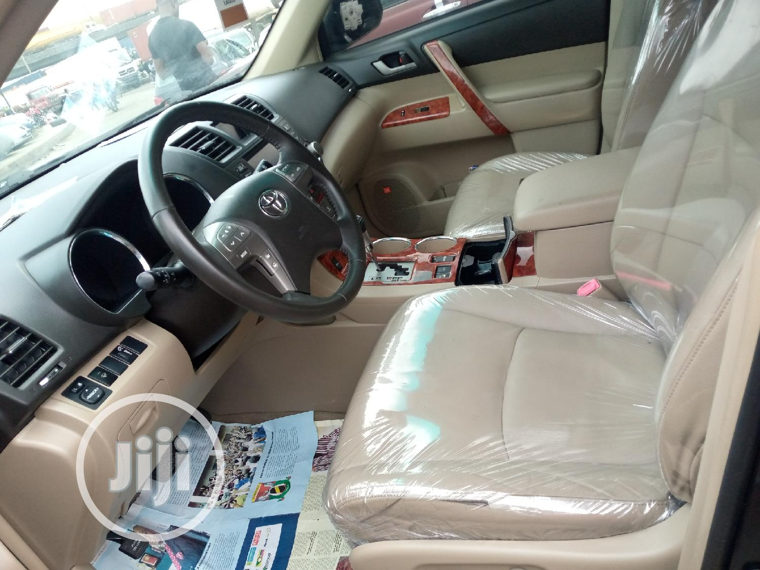 Toyota Highlander 2008 Limited 4x4 Black   Cars for sale in Apapa, Lagos State, Nigeria