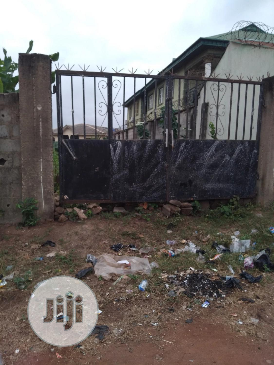 Half Plot of Land ( Fenced and Gated ) at Selewu Igbogbo Ikd