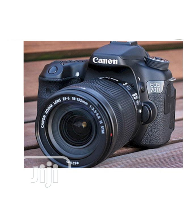 Archive: Used CANON EOS 70D Video Camera