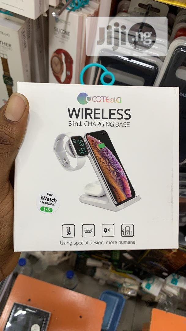 Wireless Charger | Accessories for Mobile Phones & Tablets for sale in Ikeja, Lagos State, Nigeria