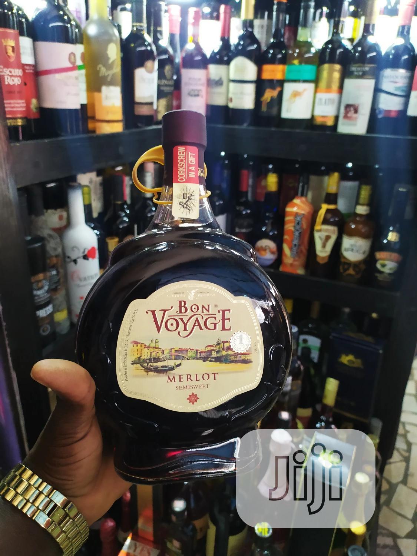 Bon Voyage Sweet Red Wine