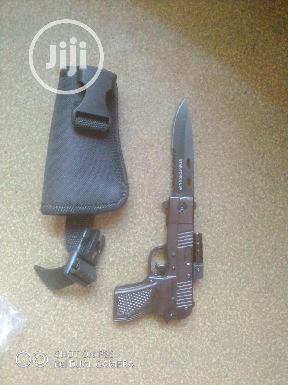 Pistol Jack Knife.