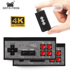 Data Frog Video Game Console USB 8 Bit   Video Game Consoles for sale in Lagos State, Surulere