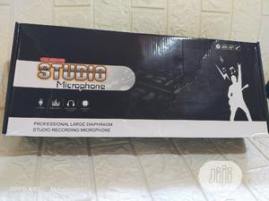 Professional Studio Microphone + Live Sound Card | Audio & Music Equipment for sale in Lagos State, Ikorodu