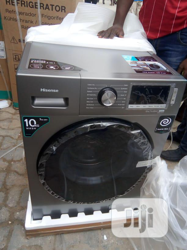 Hisense Washing Machine Automatic 10kg Washer And Dryer