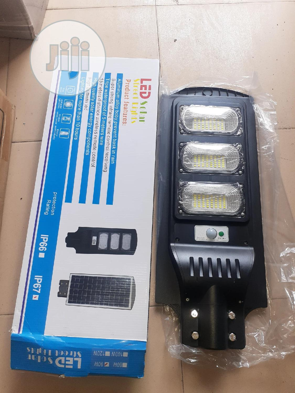 120w All In One Solar Street Lights Is Available