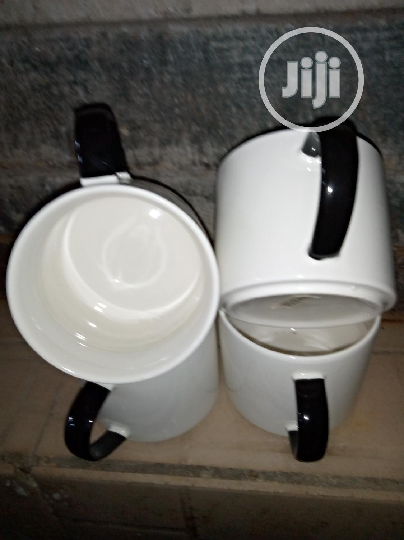 White And Black Handle Mug | Kitchen & Dining for sale in Lagos Island (Eko), Lagos State, Nigeria