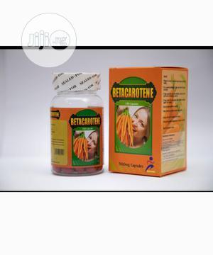 Beta Carotene 500 Mg 100 Capsules   Vitamins & Supplements for sale in Lagos State, Yaba