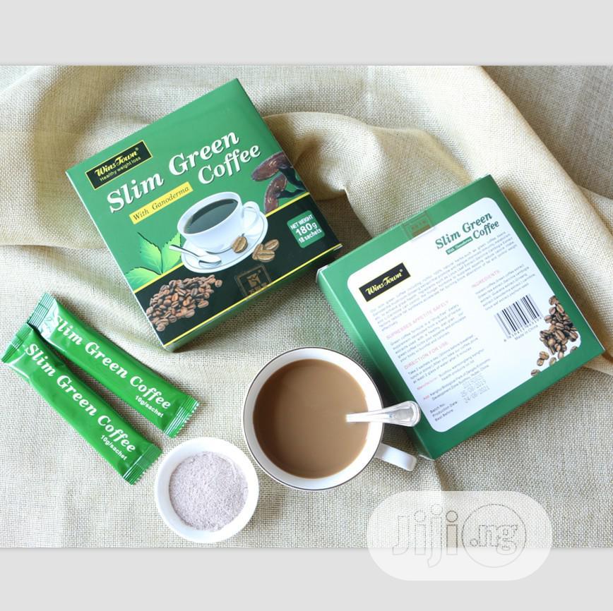 Green Coffee Slim With Ganodsema