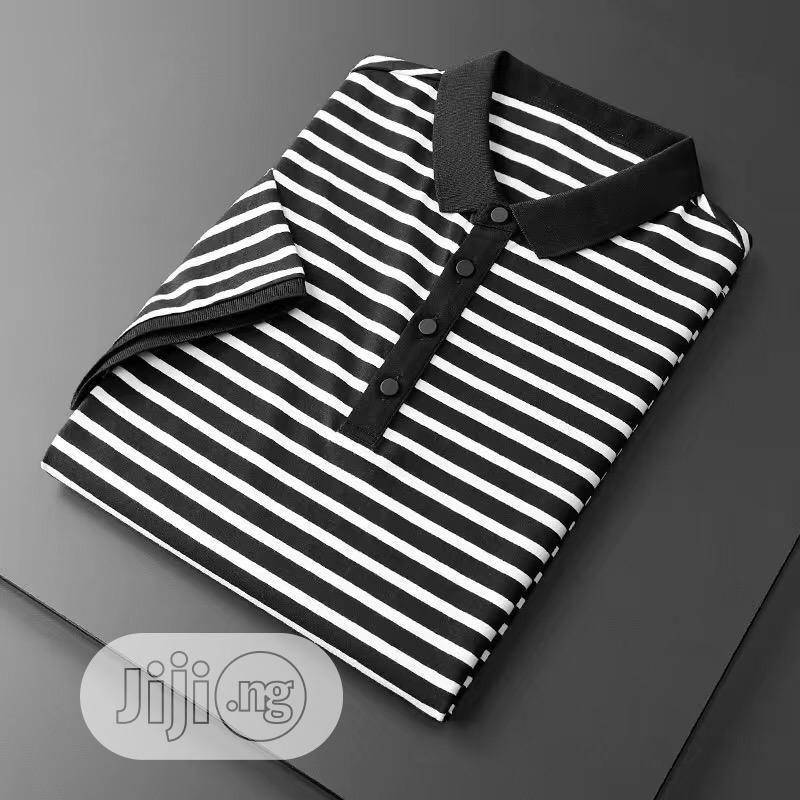 Men Mature Quality Cotton Polo Shirts