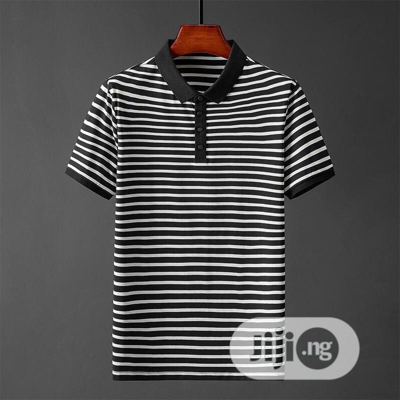 Men Mature Quality Cotton Polo Shirts   Clothing for sale in Lagos Island (Eko), Lagos State, Nigeria