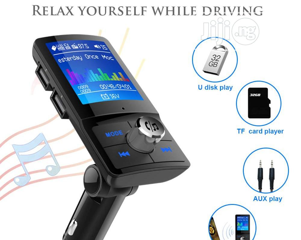 Lcd Bluetooth Fm Transmitter Car Mp3 Player