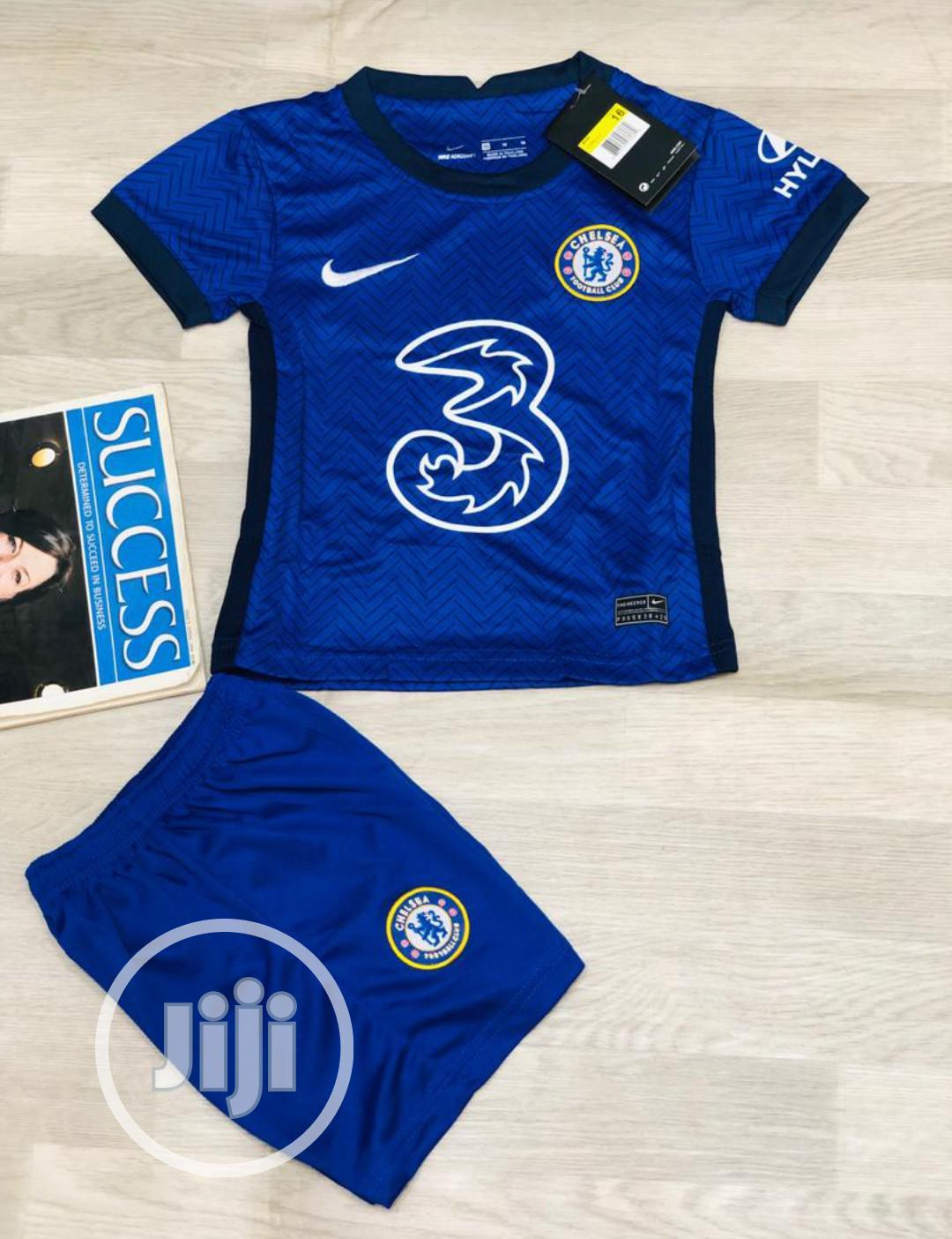 Authentic Chelsea FC 2020/21 Season Children Jersey