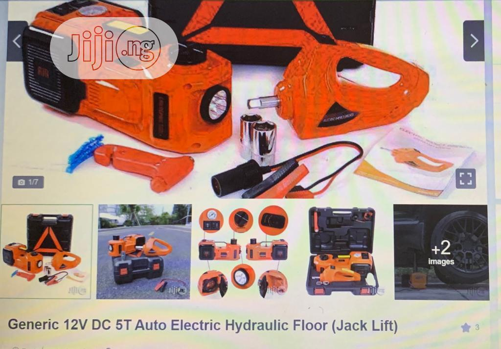 5tons 3 In 1 ELECTRIC CAR JACK(Multi-purpose) | Vehicle Parts & Accessories for sale in Ojo, Lagos State, Nigeria