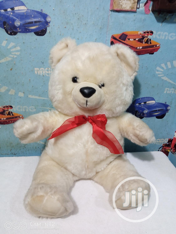 Uk Used Big Plush Teddy Bear | Toys for sale in Ikeja, Lagos State, Nigeria