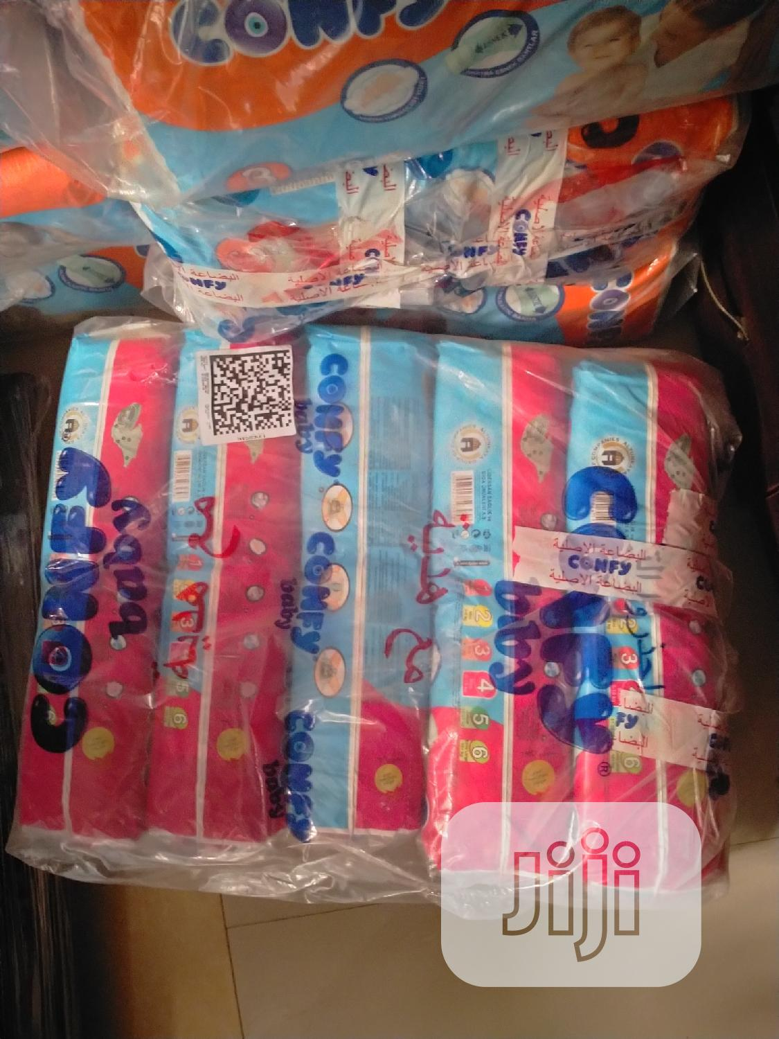 Comfy Imported Baby Diapers | Baby & Child Care for sale in Lekki, Lagos State, Nigeria