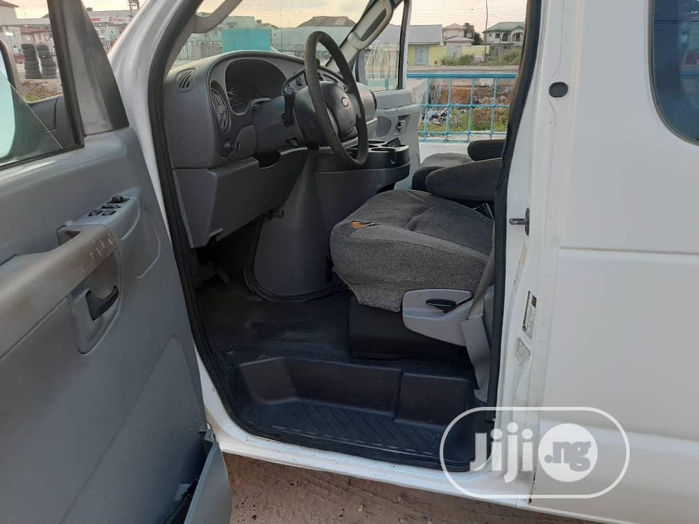 Ford E-150 2008 Extended White | Buses & Microbuses for sale in Ikeja, Lagos State, Nigeria