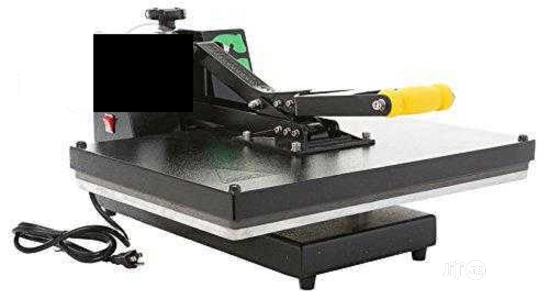 Brand New 60cm * 80cm Heat Press Printing Machine | Printing Equipment for sale in Ikeja, Lagos State, Nigeria