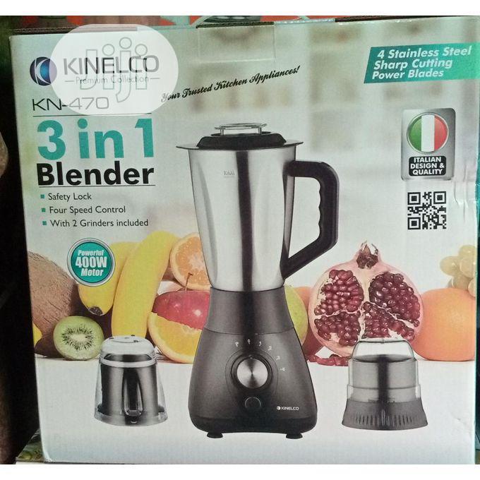 3 In 1 Blender (KN-77) - Kinelco B11