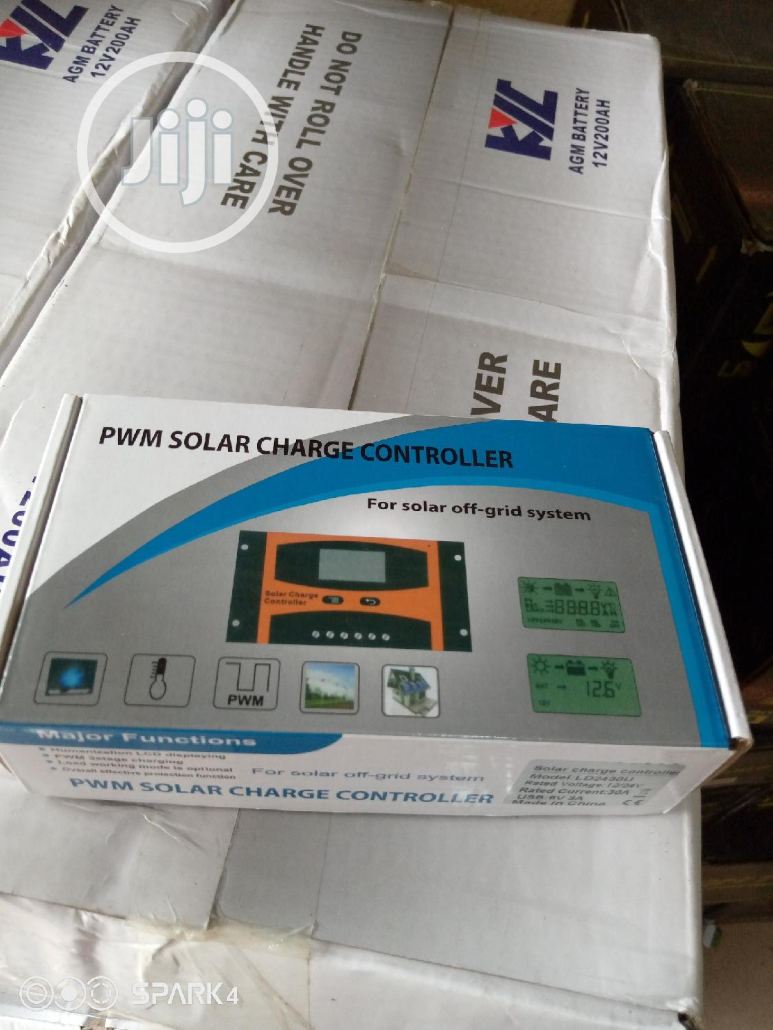 12v/30AH Charge Controller Pwm | Solar Energy for sale in Lekki, Lagos State, Nigeria