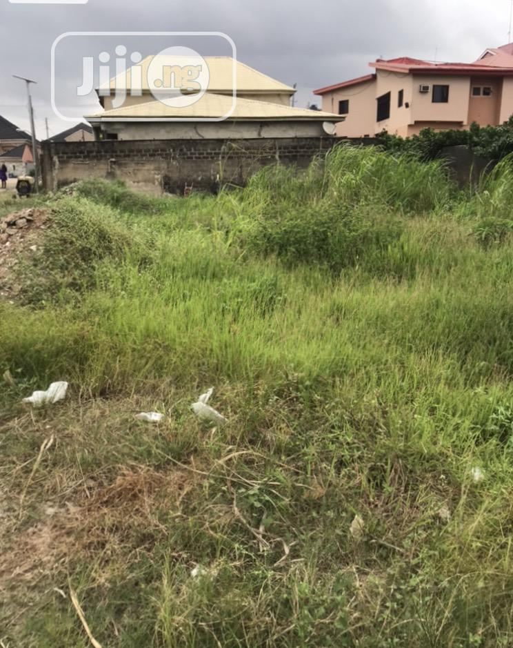Full Plot of Land in Peace Estate at Magboro