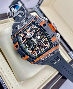 Rubber Men Watch Sapphire Automatic Mechanical McLaren | Watches for sale in Lagos State, Ikeja