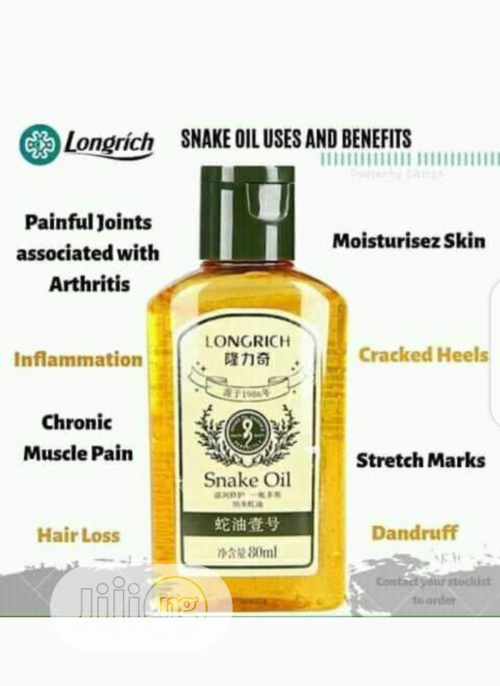Archive: Longrich Snake Oil