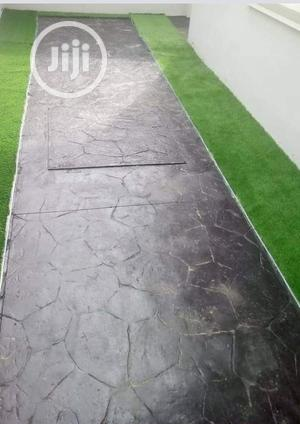 Stamped Concrete Floor   Building & Trades Services for sale in Abuja (FCT) State, Lokogoma