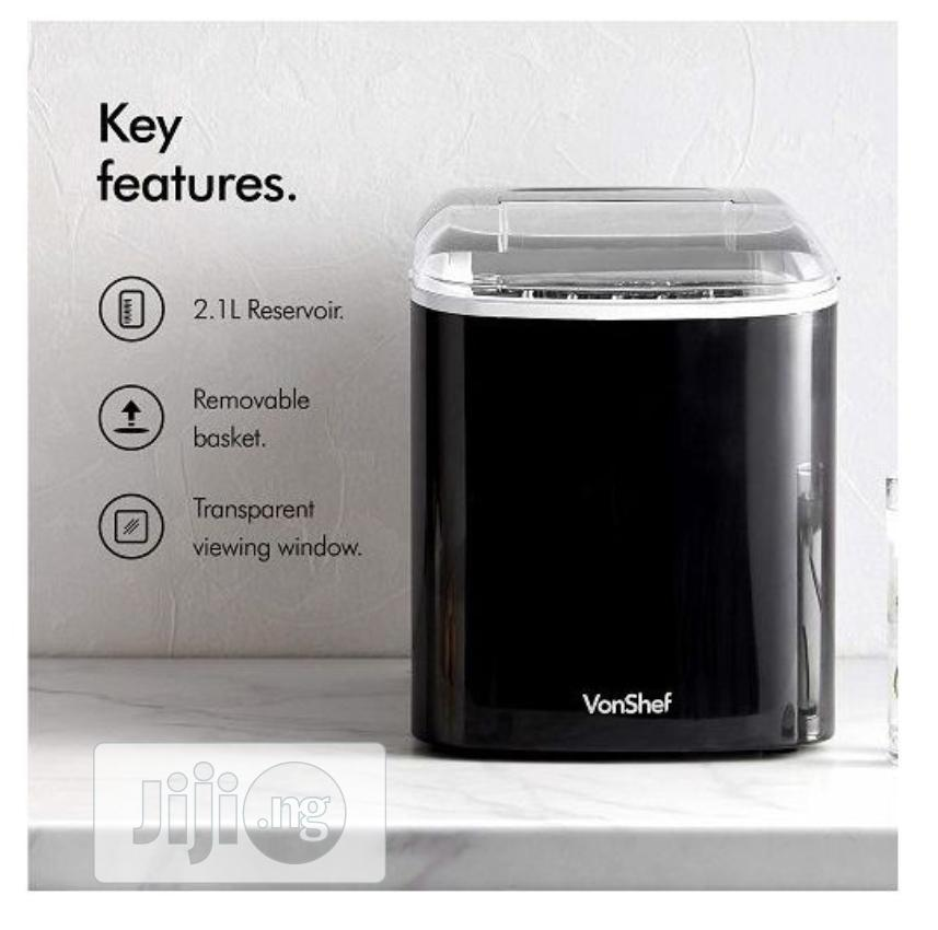 Archive: Vonshef Ice Maker Machine – Counter Top