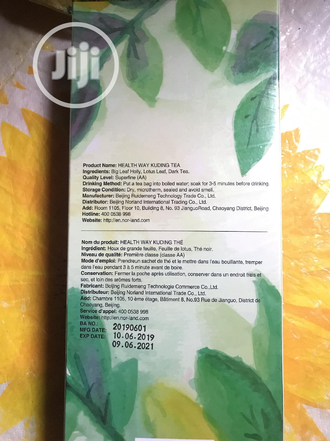 Archive: Norland Healthway Kuding Tea