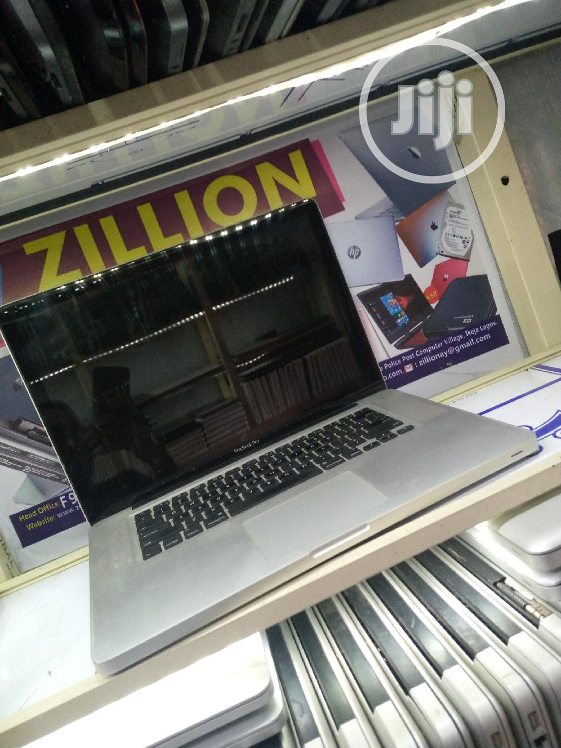 Laptop Apple MacBook Pro 4GB Intel Core 2 Duo HDD 500GB | Laptops & Computers for sale in Ikeja, Lagos State, Nigeria