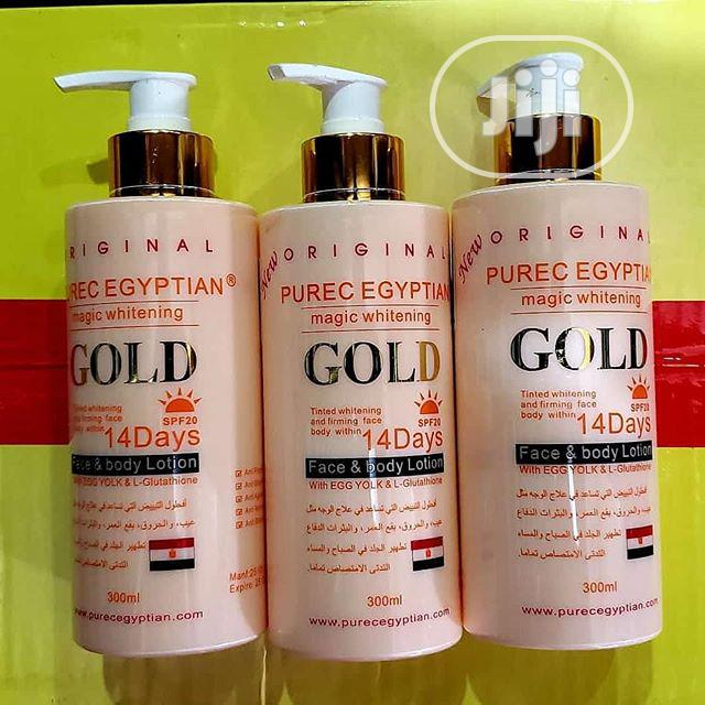 Purec Egyptian Magic Whitening Gold Lotion 300ml