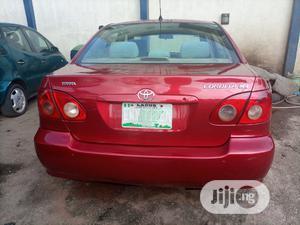 Toyota Corolla 2005 Red | Cars for sale in Lagos State, Ifako-Ijaiye