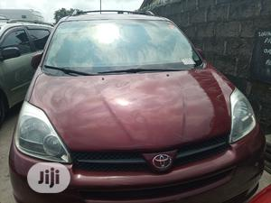 Toyota Sienna 2004 XLE AWD (3.3L V6 5A) Red | Cars for sale in Lagos State, Apapa
