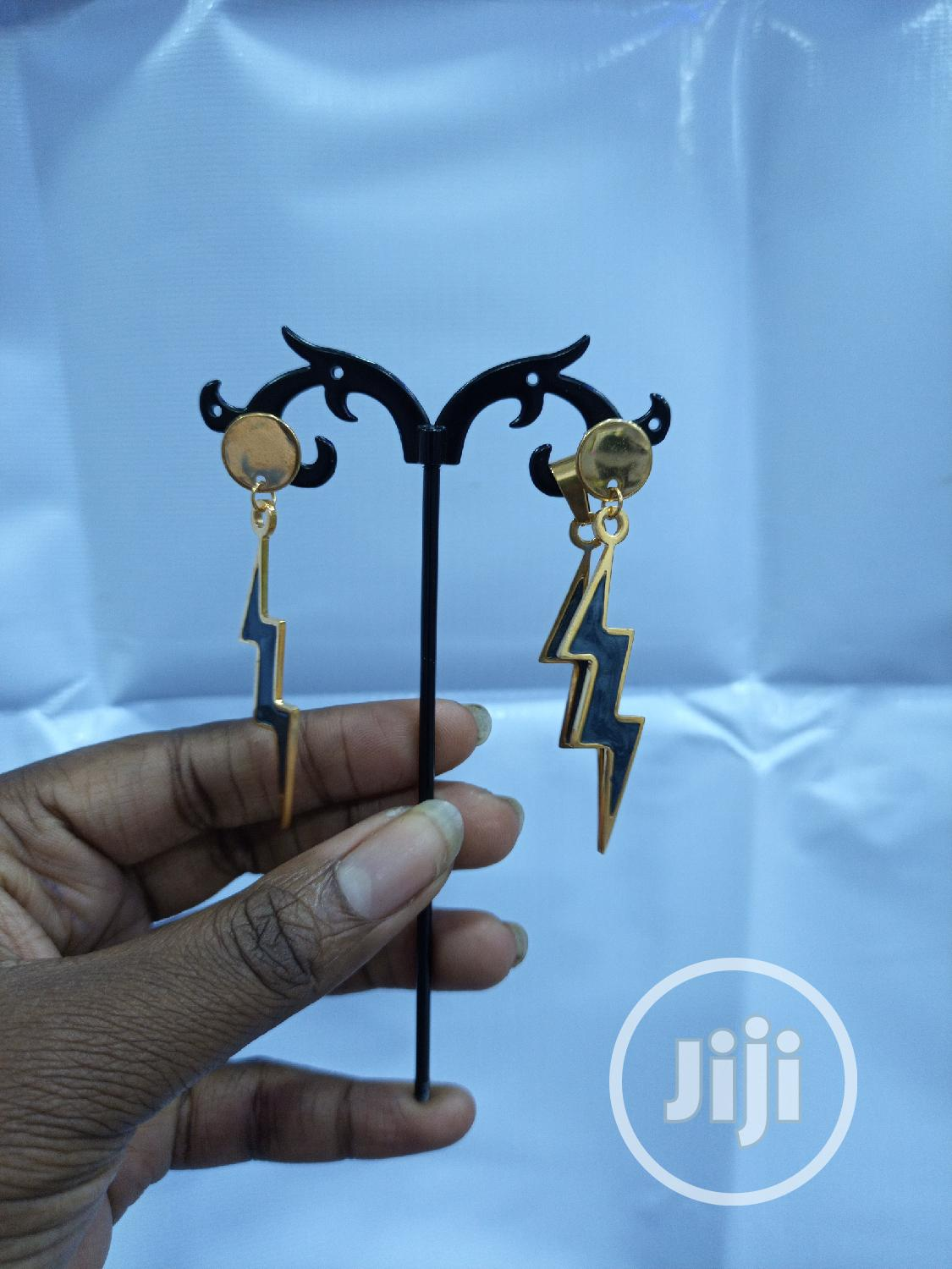Thunderbolt Earrings And Pendant | Jewelry for sale in Ajah, Lagos State, Nigeria