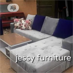New Set of L-Shaped Sofa With a Center Table | Furniture for sale in Lagos State, Ikoyi
