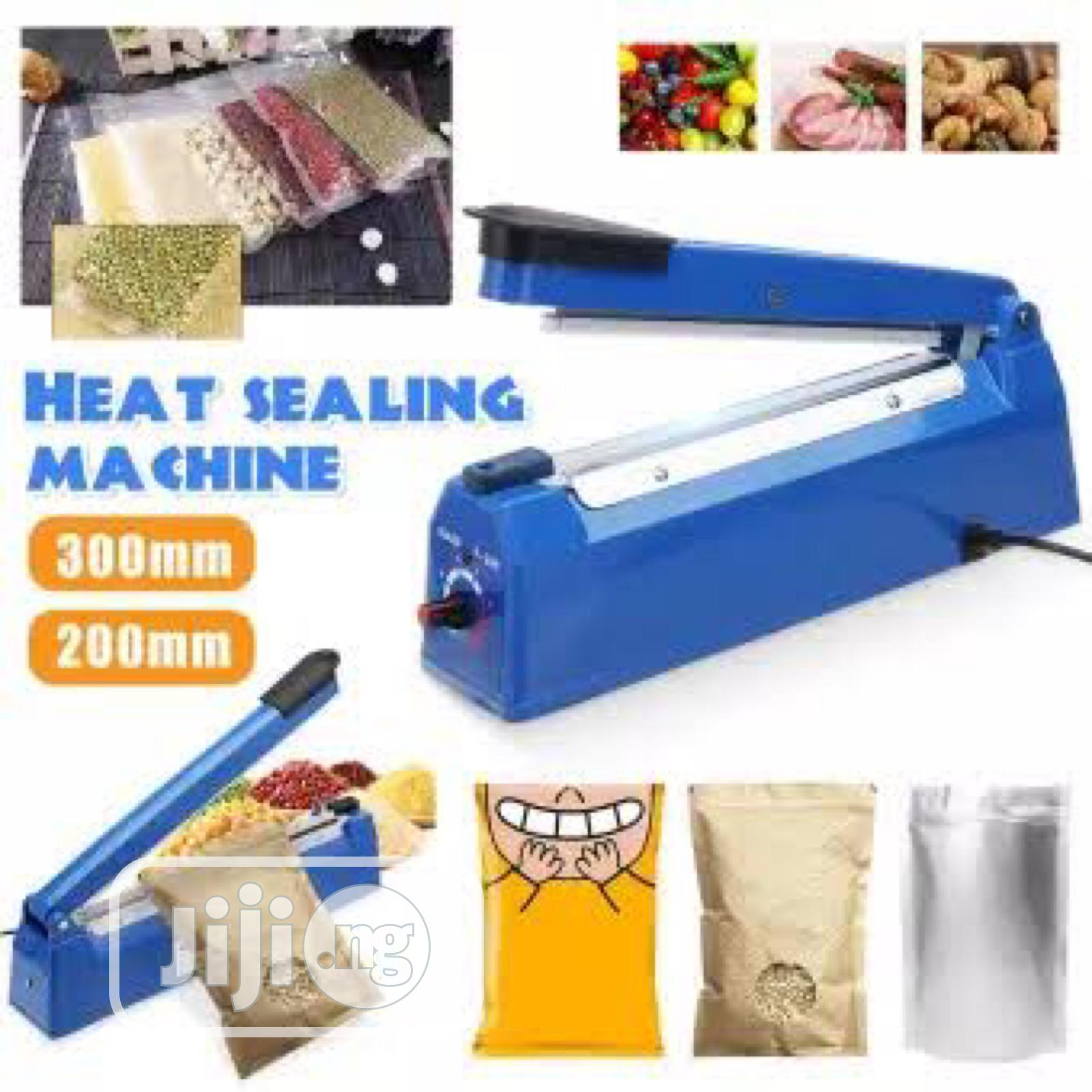 Eurosonic New Nylon Impulse Sealer Sealing Machine | Manufacturing Equipment for sale in Abule Egba, Lagos State, Nigeria