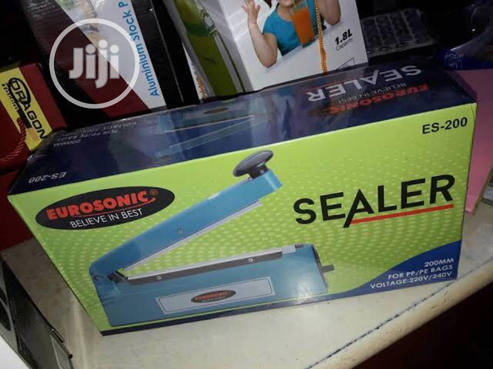 Eurosonic New Nylon Impulse Sealer Sealing Machine