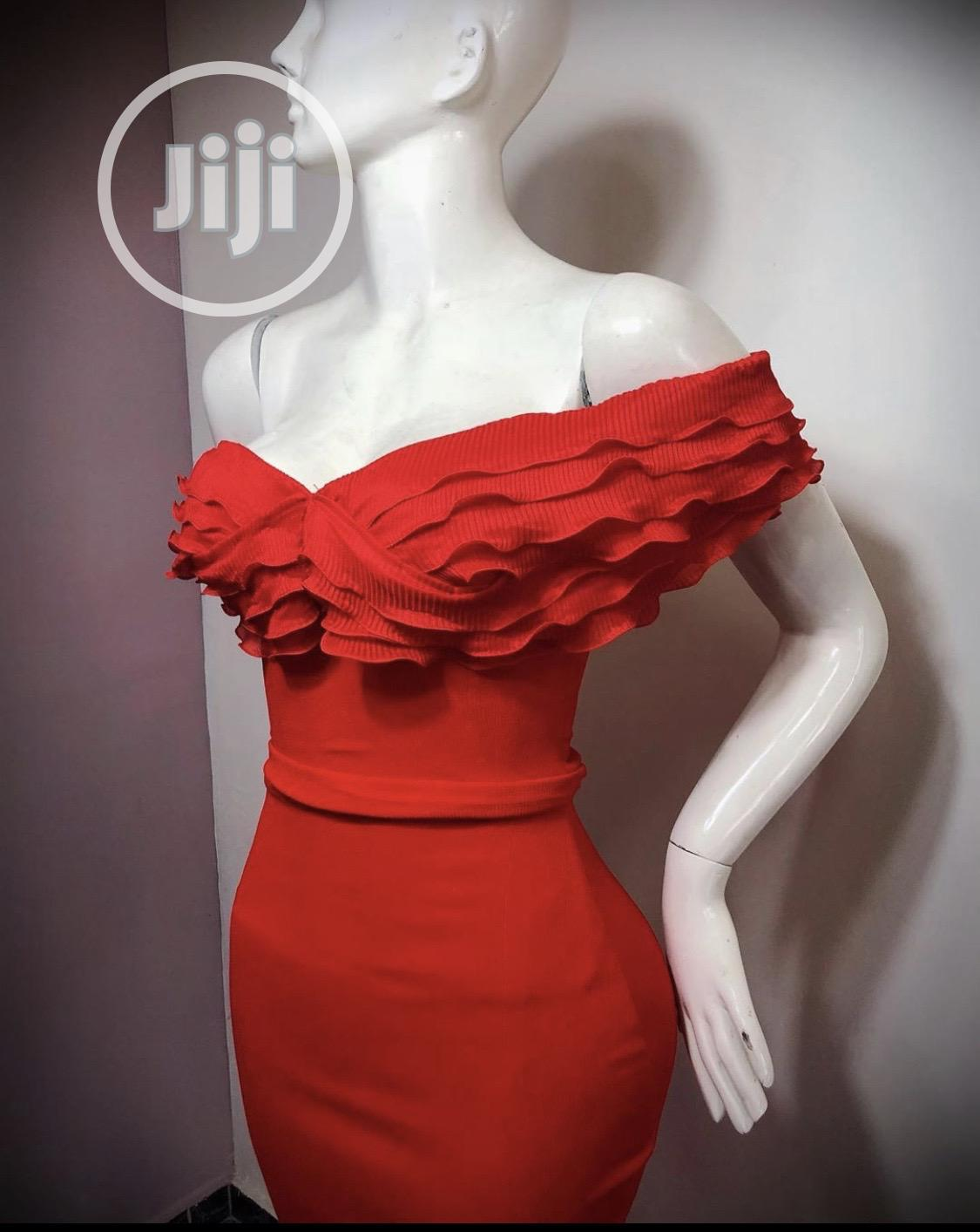 Beautiful Red Gown for Sale   Clothing for sale in Ikeja, Lagos State, Nigeria