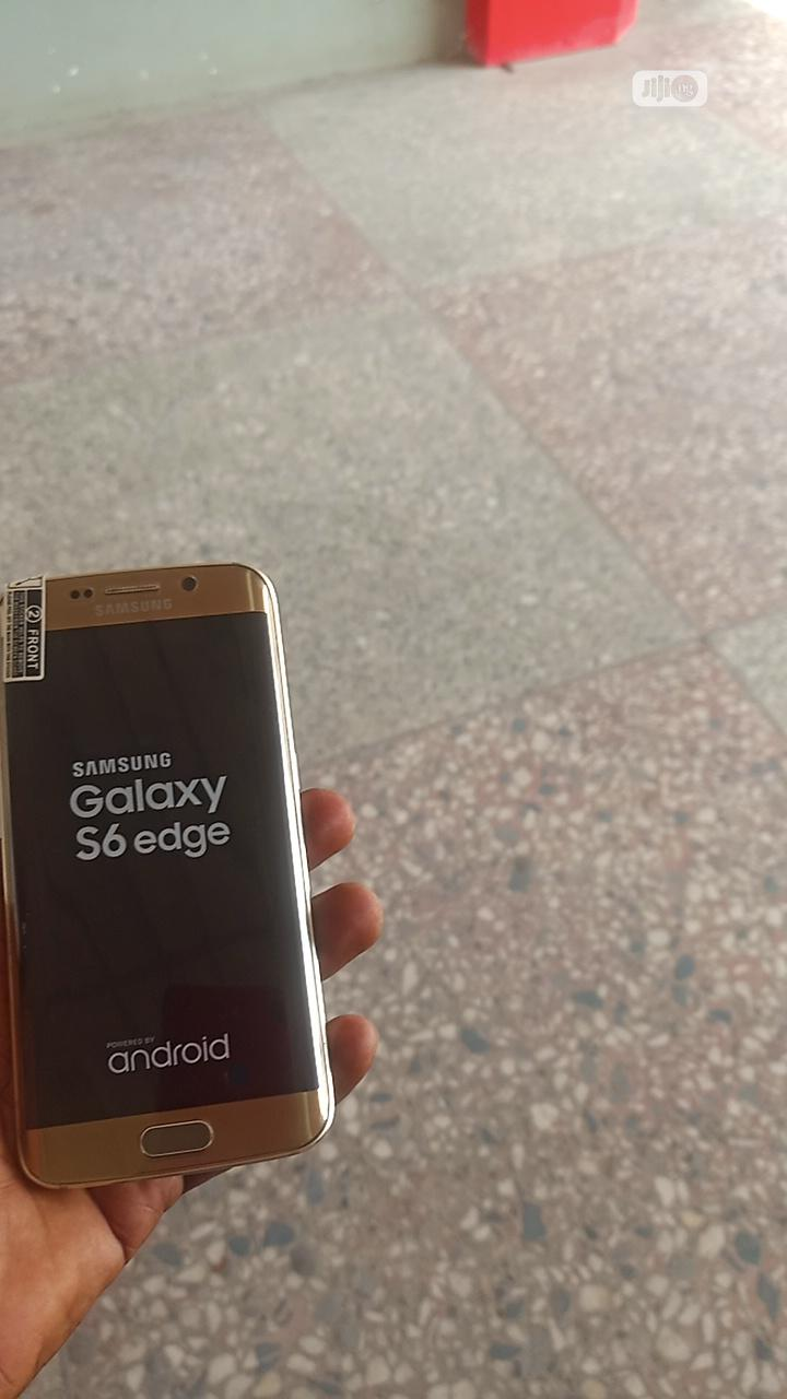 Samsung Galaxy S6 edge 32 GB Gold | Mobile Phones for sale in Ikeja, Lagos State, Nigeria