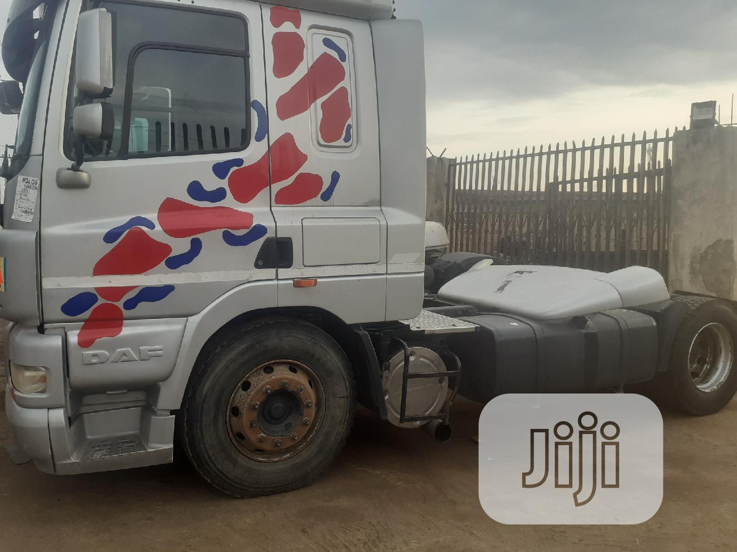 DAF Cf Tokunbo Tractor Unit | Heavy Equipment for sale in Ibadan, Oyo State, Nigeria