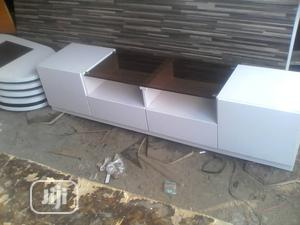 White TV Stand   Furniture for sale in Lagos State, Ajah