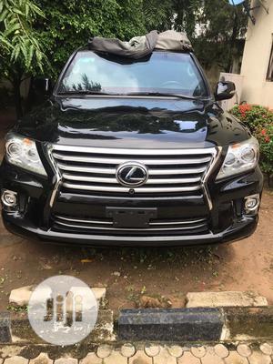 Lexus LX 2015 570 Base Black   Cars for sale in Abuja (FCT) State, Jabi
