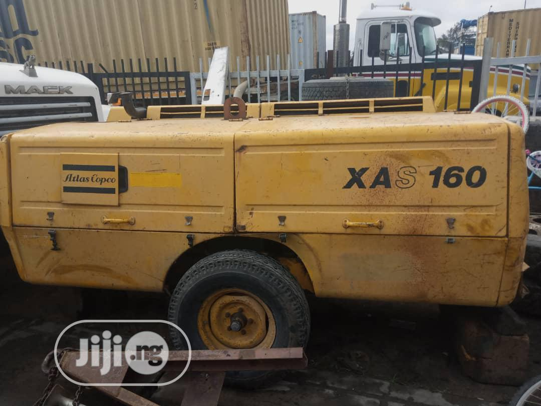 Newly Arrived Atlas Copco Air Compressor XAS 160, 6 CYLINDER | Heavy Equipment for sale in Apapa, Lagos State, Nigeria