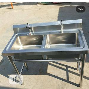 Double Bowl Sink | Restaurant & Catering Equipment for sale in Lagos State, Ilupeju